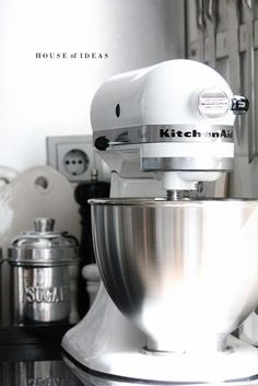 Classic White And Stainless KitchenAid