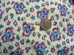 Vintage 1930's 40's Full Feed Sack Cotton Fabric    by anne8865, $29.00