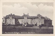 Women's Residence Macdonald College STE ANNE DE BELLEVUE Quebec 1910-20s