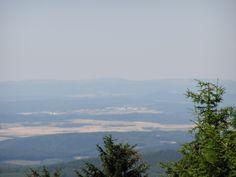 Blick vom Großen Beerberg in Richtung Meiningen-Dreißigacker