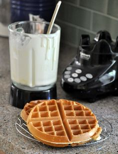 Blender Waffles... just tried this recipe this am... it was quick and yummy!