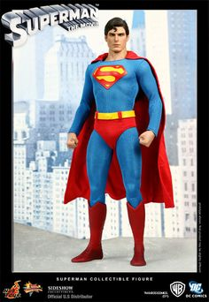 Amid high anticipation, Sideshow Collectibles and Hot Toys are proud to present the Superman 12-inch Figure from the 1978 classic superhero film Superman. The movie-accurate Superman collectible is specially crafted based on the image of Christopher Reeve as The Man of Steel, highlighting the authentic head sculpt, movie-accurate costume and figure stage imitating the Fortress of Solitude.