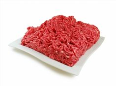 Raw meat. Fresh Minced Mix of Meat in a Dish Isolated Against White background poster #poster, #printmeposter, #mousepad, #tshirt