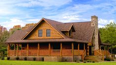 eLogHomes.Com: Gallery of Log Homes  the Blue Ridge----this is as close as I could find...the Oak Ridge is the one we REALLY want, but guess that will have to wait a while longer...