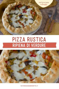 La Pizza Rustica ripiena di Verdure è una ricetta facile e sfiziosa, ideale per un antipasto, un aperitivo o un buffet di festa. Basta mischiare delle verdure avanzate dal giorno prima con un po' di formaggio, farcire della #PastaSfoglia, cuocere in forno e la pizza rustica è subito pronta. È la classica ricetta svuota frigo: possiamo aggiungere tutti salumi e formaggi che abbiamo in frigo per creare una pizza rustica sempre diversa! #fattoincasadabenedetta #menuvegetariano #pizza I Love Food, Street Food, Food Videos, Food And Drink, Mexican, Pizza, Ethnic Recipes, Buffet, Repeat