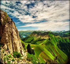 The Alps are one of the great mountain range systems of Europe