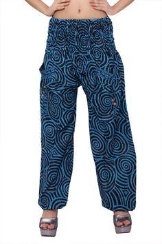 Gypsy Hippie Aladdin Baggy Indian Women Trousers Boho Yoga Casual Harem Pants 02 #Handmade #Harem