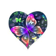 Beautiful Butterfly Heart