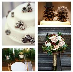 Inspiration: Rustic Holiday Woodland Wedding | Woodsy Weddings