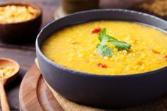 Creamy Turmeric Lentil Soup~The powerful turmeric-coconut soup that can help treat 7 different ailments Rice Recipes, Indian Food Recipes, Low Carb Recipes, Soup Recipes, Cooking Recipes, Healthy Recipes, Healthy Soup, Cooking Time, Lentil Dishes