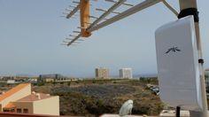 Instalación #WiFiCanarias #AirInternet en el Sur de #Tenerife