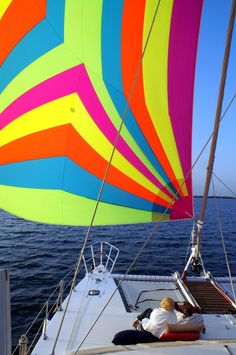 Relaxing Catamaran Style...