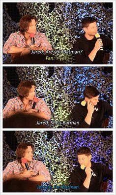 Technically you were a Robin/Red Hood, Jensen, but I/we wanted you to be Batman soooooo mcuh. GIFset