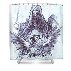 "New artwork for sale! - "" Allegory War Or Evil Shower Curtain by Goya Francisco "" - https://ift.tt/2LQ5U7u"