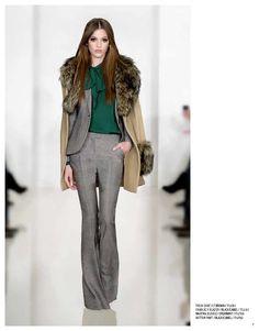 Trish coat, Charlie II blazer, Maryna blouse & Hutton pant