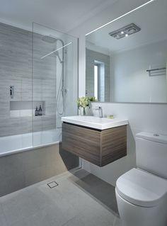 Bathroom Vanity Designs, Small Bathroom Vanities, Modern Master Bathroom, Modern Bathroom Design, Bathroom Interior Design, Condo Bathroom, Bathroom Renos, Bathroom Ideas, Remodled Bathrooms