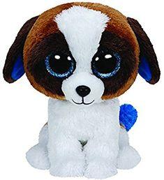 9c448138a0c Amazon.com  Ty Beanie Boo Plush - Duke the Dog 15cm  Toys  amp