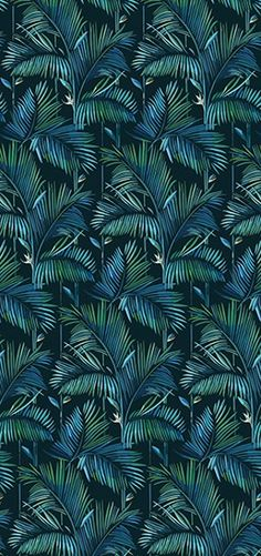 Tropical wallpaper BRASILIA Contemporary Wallpaper 2016 Collection By Wall&decò design Lorenzo De Grandis Wallpaper 2016, Wall Wallpaper, Pattern Wallpaper, Wallpaper Jungle, Adhesive Wallpaper, Post Contemporary, Contemporary Wallpaper, Fleur Design, Design Design