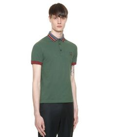 c56ad423e Fred Perry - Fred Perry Shirt With Detachable Tipped Collar