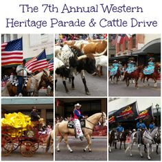 Checking out The 7th Annual Western Heritage Parade & Cattle Drive in San Antonio Texas. Lets Rodeo San Antonio!