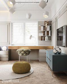 Diy Bedroom Decor For Teens, Decoration Bedroom, Kids Bedroom, Home Office Design, House Design, Small Girls Bedrooms, Japanese Home Decor, Teenage Room, Girl Bedroom Designs