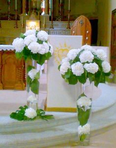 vasetti fiori panche chiesa - Cerca con Google