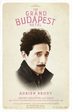 The Grand Budapest Hotel: Extra Large Movie Poster Image - Internet Movie Poster Awards Gallery