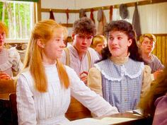Discover & share this Anne Of Green Gables GIF with everyone you know. GIPHY is how you search, share, discover, and create GIFs. Movies Showing, Movies And Tv Shows, Anne Auf Green Gables, Road To Avonlea, Megan Follows, Gilbert Blythe, Anne Shirley, Kindred Spirits, Pride And Prejudice