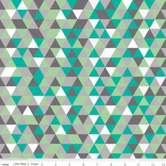 The Cottage Garden Triangles in Gray by Riley Blake Designs geometric modern quilting fabric Triangles, Geometric Fabric, Riley Blake, Fabulous Fabrics, Grey Fabric, Knitted Fabric, Cotton Fabric, Patchwork Fabric, Fabric Design