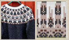 Knitting Charts, Knitting Patterns Free, Stitch Patterns, Crochet Baby, Knit Crochet, Christmas Crochet Patterns, Fair Isle Knitting, Knitting For Kids, Knitwear