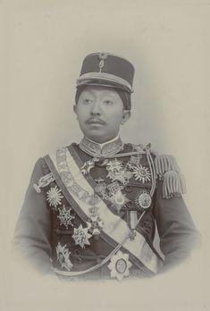 Portrait of Pakubuwono X, tenth Susuhunan (ruler of Surakarta).