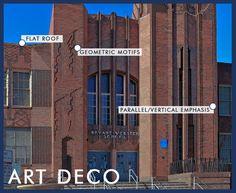 Art Deco Home Exteriors | Art Deco Architecture in Denver