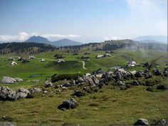 Velika Planina, Slovenia. Lovely place to hike in the Middle Ages!