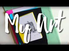 My Artwork & Doodles | Femmsss - YouTube