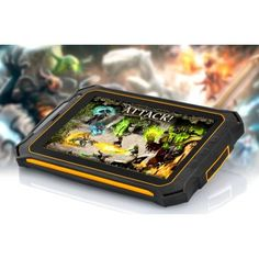 Qualcomm MSM8625Q Quad Core Upgrade  |  http://www.chinavasion.com/china/wholesale/Android_Tablets/7_Android_Tablet_PC/Rugged_Quad_Core_Android_Tablet_-_7_Inch_Gorilla_Glass_2_Screen_IP67_Waterproof_Rating_Shockproof_Dust_Proof/