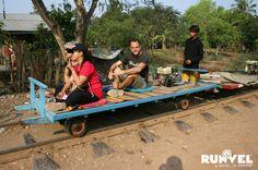 RUNVEL: ΜΕ BAMBOO TRAIN ΣΤΗΝ ΚΑΜΠΟΤΖΗ. Bamboo, Train, Strollers