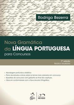 Nova Gram�tica da L�ngua Portuguesa Para Concursos