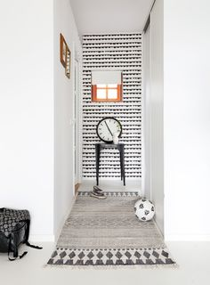 ferm Living - Half Moon - wallpaper  buy: http://www.binnenpretwonen.nl/component/virtuemart/behang-pret/half-moon-detail?Itemid=0  photo via: vtwonen