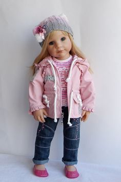 Комплект одежды для куклы Готц 50 см на классическом теле, для кукол на шарнирном теле комплект не подходит. Комплект хорошо / 2 200р
