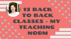 What is it like teaching 13 back to back classes in one morning? Here's a peak at my usual teaching norm. Are you interested in working in online ESL? Tools For Teaching, Hiring Process, Esl, Teacher, How To Apply, Education, Professor, Teachers, Onderwijs