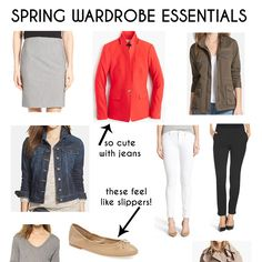Spring is just around the corner soI've gathered a list of 15 spring wardrobe essentials with shopping links at a variety price points for all budgets.