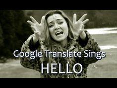 #WTF 'Hello' de Adele con traducción de Google Translate #música