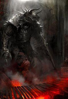 Charr Knight by Kekai Kotaki