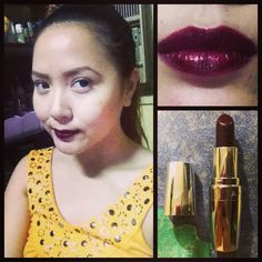 Avon Totally Kissable Lipstick in Deep Orchid💋