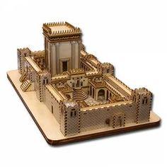 Réplica do Templo de Salomão Para Montar - R$ 500,00