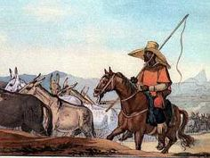 They left Vila Rica with the tropeiros on May 19, 1789, heading south on the road to São João del Rei. The two muleteers were hard-drinking, taciturn men, who asked few questions about André's request to accompany them, though they suspected it was connected with the excitement at Vila Rica.  -- from Brazil, a novel by Errol Lincoln Uys