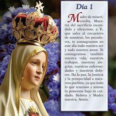 Oración día 1, Mayo mes de Maria