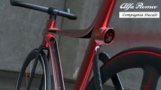 Alfa Romeo 4C IFD bicycle design