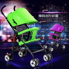 Strollers summer ultralight portable folding umbrella car trolley car portable baby stroller BB