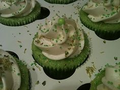 Just for my love - Key Lime Cupcakes with Key Lime Buttercream